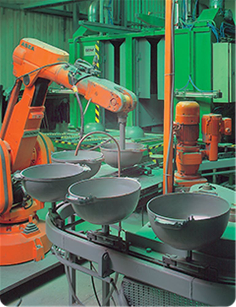 La produzione degli strumenti da cucina scanpan tom press - Strumenti da cucina ...