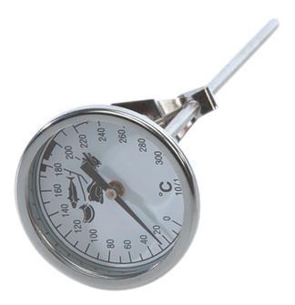 Termometro a sonda con quadrante per friggitrice