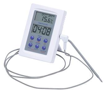 Termometro da forno con sonda inox