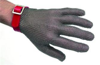 Guanto in maglia inox tg. 6 e 6,5