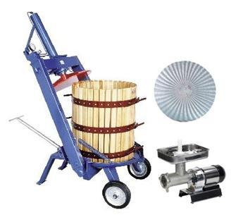 Kit per la produzione di olio con torchio idraulico