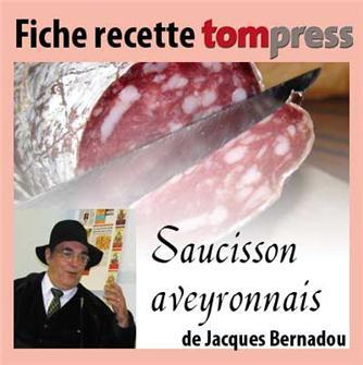 Ricetta del salame contadino della regione di Avey