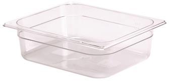Bacinella per alimenti senza BPA GN 1/2 h. 10 cm copoliestere