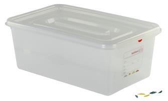 Contenitore gastronorm 1/1 stagno in plastica. Capac. 28 l. H.20 cm.