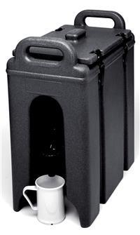Contenitore isotermico per bevande con rubinetto. Capacità: 9,4 l.