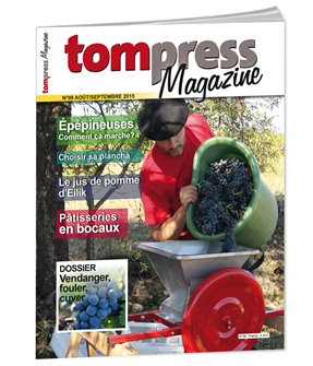 Tom Press Magazine août-septembre 2015