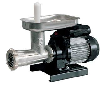 Tritacarne elettrico n.22 Reber con inverisone di marcia 600 W - nuovo motore