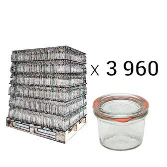 Bancale 3960 vasi Weck 80 ml