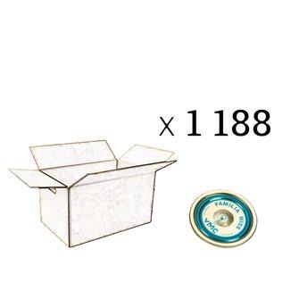 Caspule Familia Wiss 82 mm cartone da 1188 pezzi