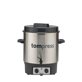 Pastorizzatore elettrico inox Tom Press con timer e rubinetto