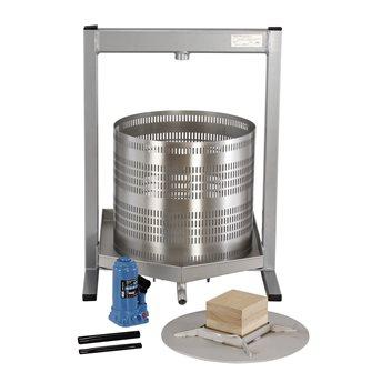 Torchio idraulico 50 l inox
