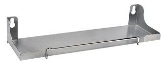 Mensola porta condimenti per piastra 60 cm