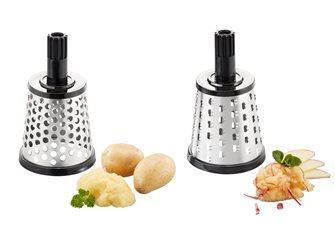 Rulli inox per formaggio e patate Gefu