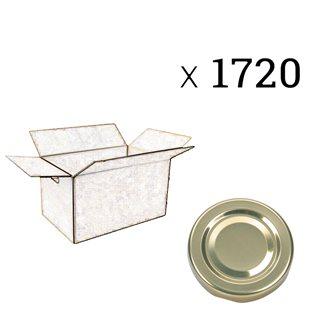 Capsule diametro 58 mm (cartone da 1720 pezzi)