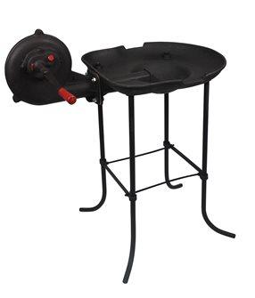 Fucina a carbone in ghisa con ventilatore