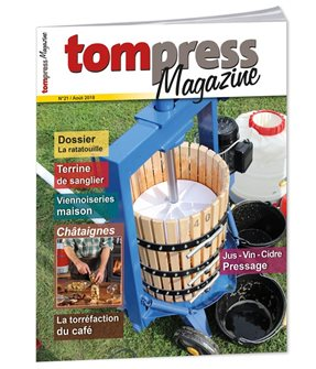 Tom Press Magazine août 2018