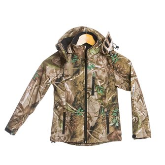 Giaccone bambino 12 anni camouflage foglia  Bartavel Buffalo softshell