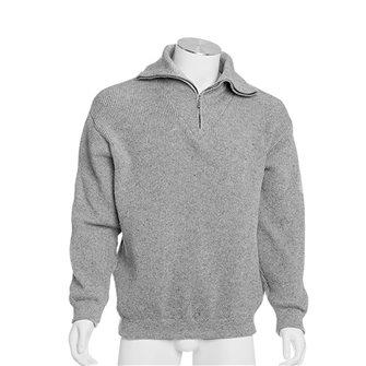 Maglione uomo da lavoro collo alto Bartavel Isard grigio XL
