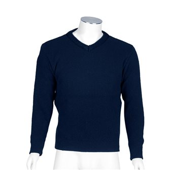 Maglione uomo blu marino collo V Bartavel Gers XXL