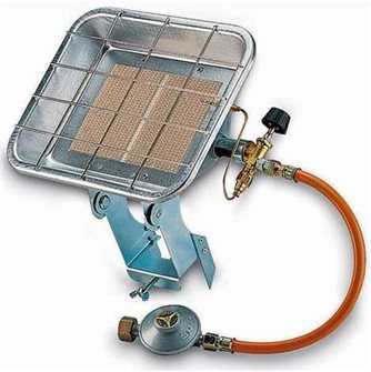 Radiante termico a gas infrarosso mobile