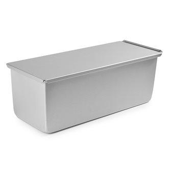 Stampo pane in cassetta alluminio anodizzato 34 cm