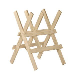 Cavalletto taglio legna 3 supporti