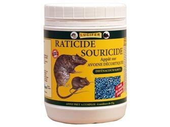 Topicida/ratticida a base d´avena decorticata, 1.4 kg