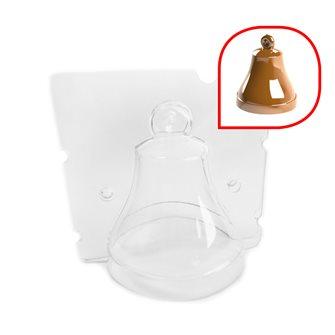 Stampo campana di Pasqua cioccolato 8x8x9,5 cm