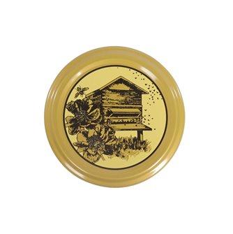 Capsule (tappi) twist-off per miele alveare 63 mm (10 pz.)