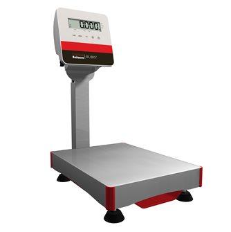 Bilancia a colonna con piattaforma inox 15 kg produzione francese