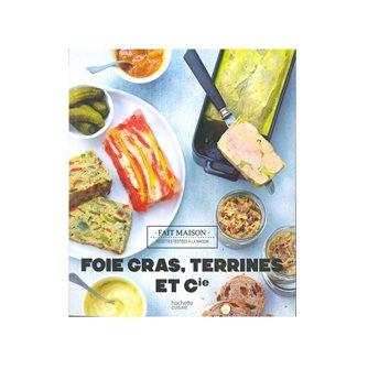 Livre Foie gras,Terrines et Cie