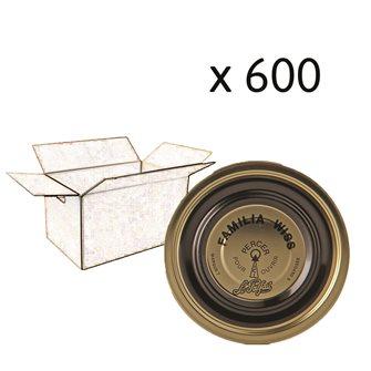Capsule Familia Wiss 110 mm cartone da 600 pz.
