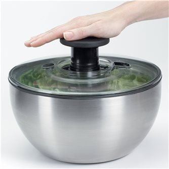 Centrifuga per insalata inox 26 cm